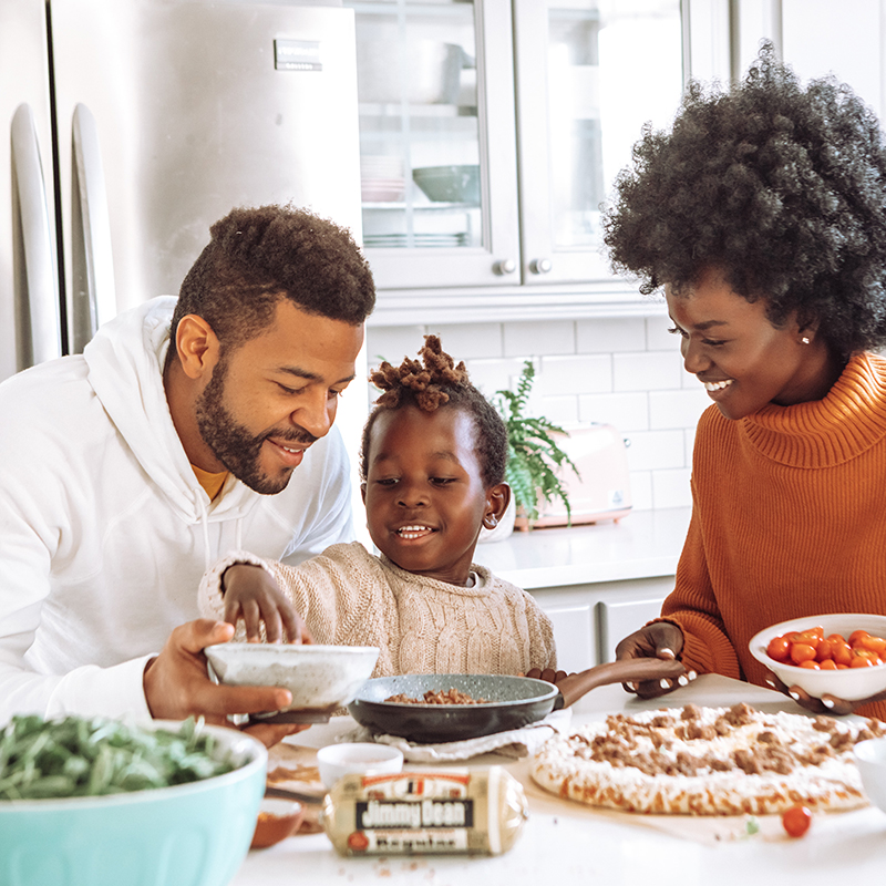 A black family using the collaborative law process